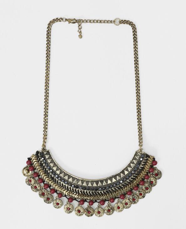 Halbmond-Halskette Gold