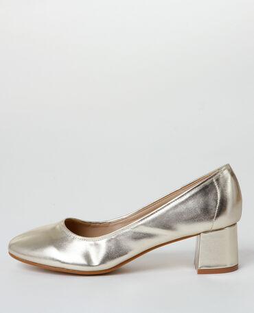Escarpins dorés doré