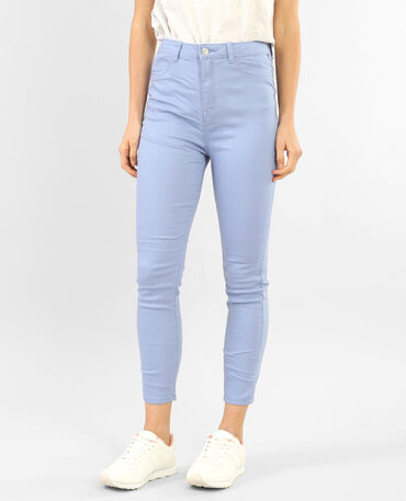 7/8-Skinny-Jeans Lila