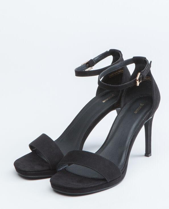 Sandales talons aiguilles noir