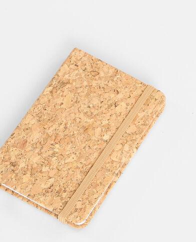Block notes in sughero glitter dorato