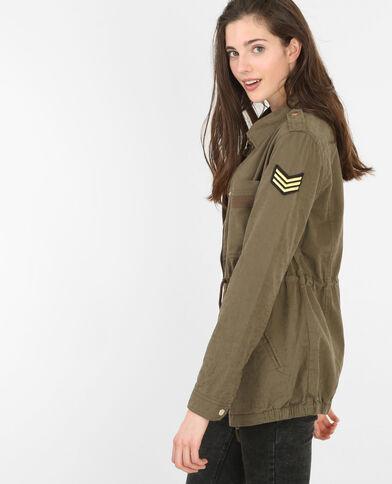 Parka im Army-Stil Khaki