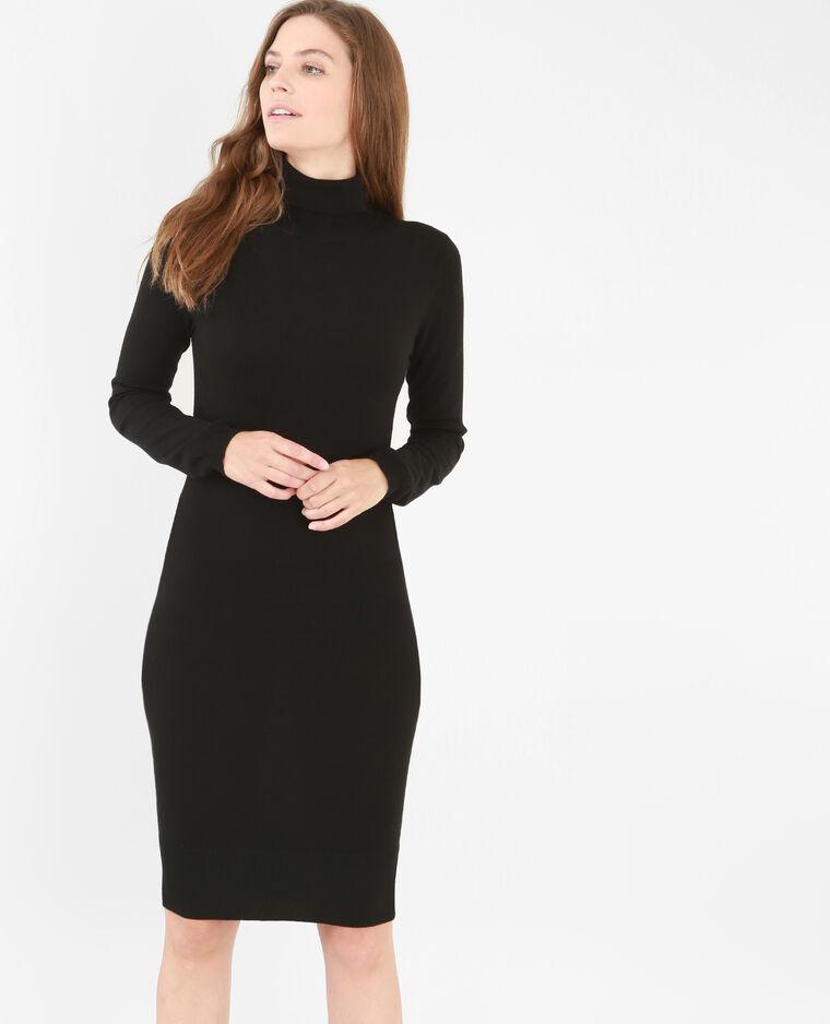 robe pull col roul noir 782033899a08 pimkie. Black Bedroom Furniture Sets. Home Design Ideas