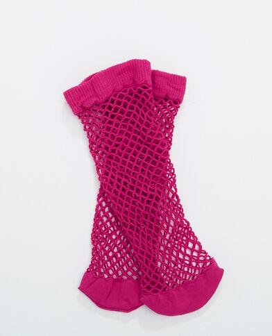 Calcetines de rejilla Rosa