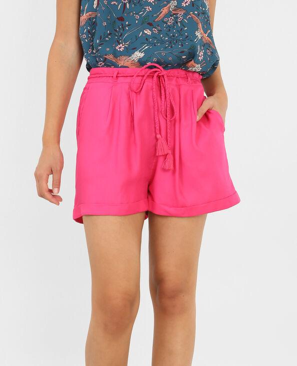Soepele short roze