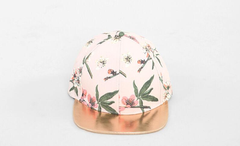 Cappellino visiera shiny Rosa