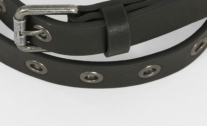 Cintura con garofani nero
