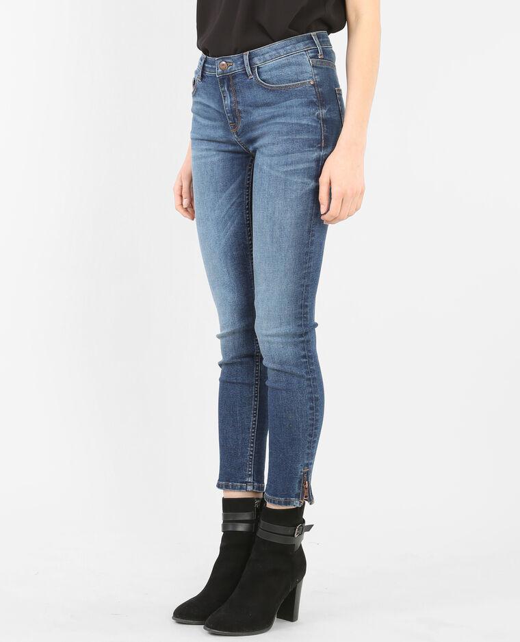 slim jeans mit rei verschluss blau 186092696a06 pimkie. Black Bedroom Furniture Sets. Home Design Ideas