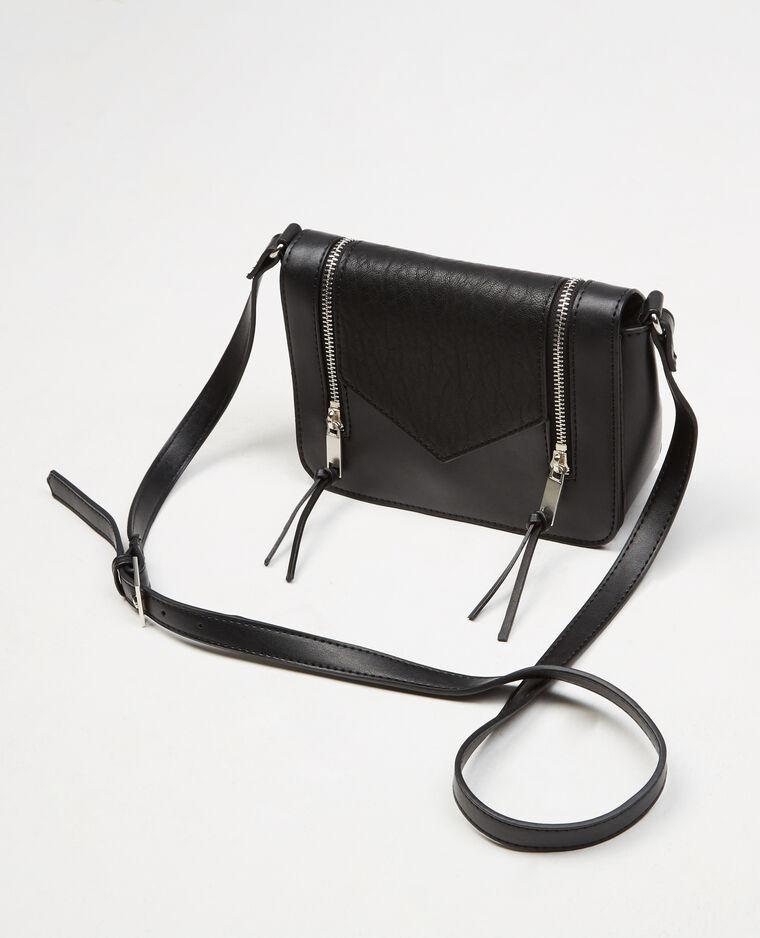 kleine boxy tasche mit rei verschluss schwarz 902184899a08 pimkie. Black Bedroom Furniture Sets. Home Design Ideas