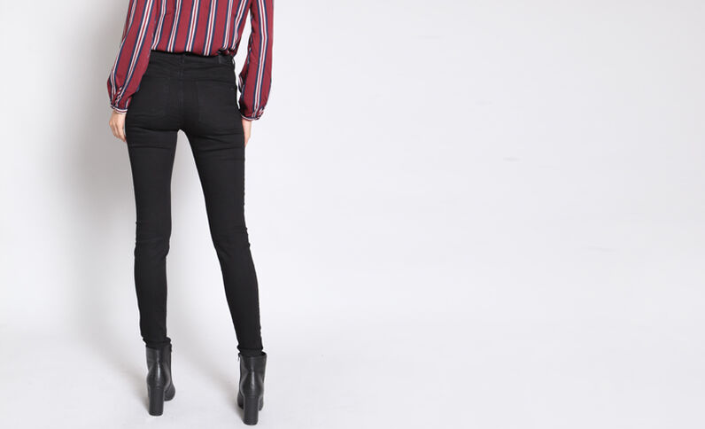 Jeggings basic nero