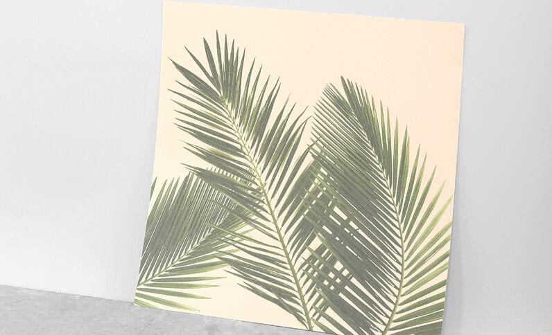 Poster palme Rosa