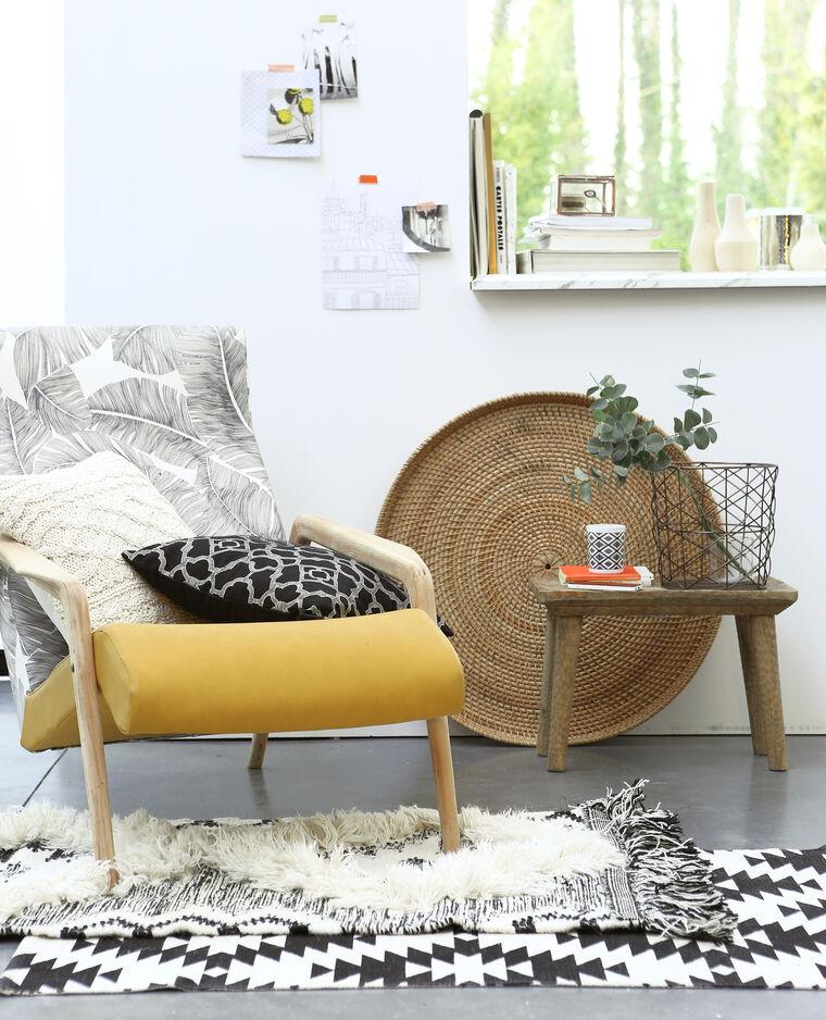 tapis coton tiss berb re cru 955040765g08 pimkie. Black Bedroom Furniture Sets. Home Design Ideas