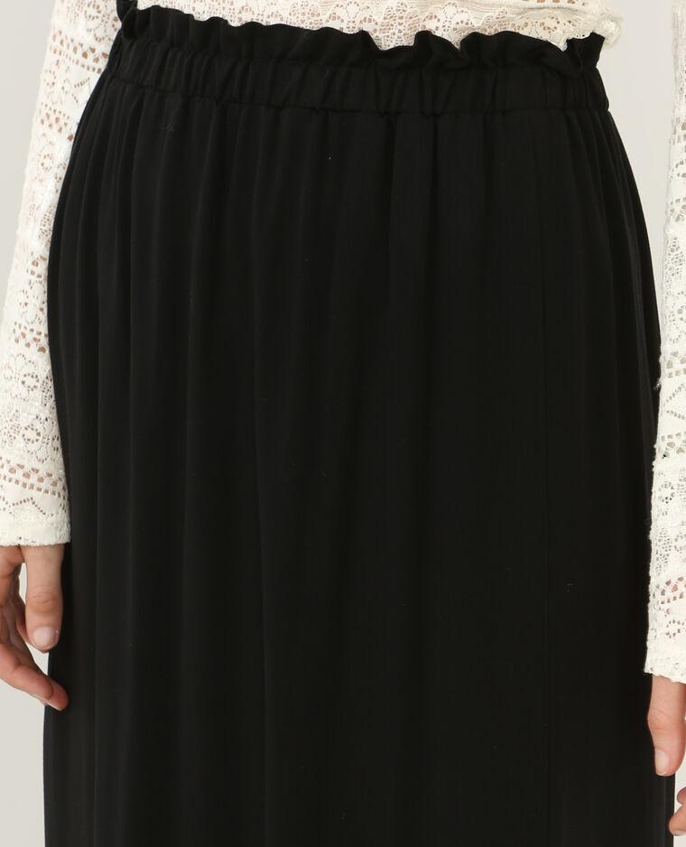 jupe longue fendue noir 690348899a08 pimkie. Black Bedroom Furniture Sets. Home Design Ideas