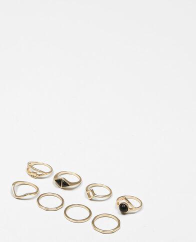 Set Ringe Gold