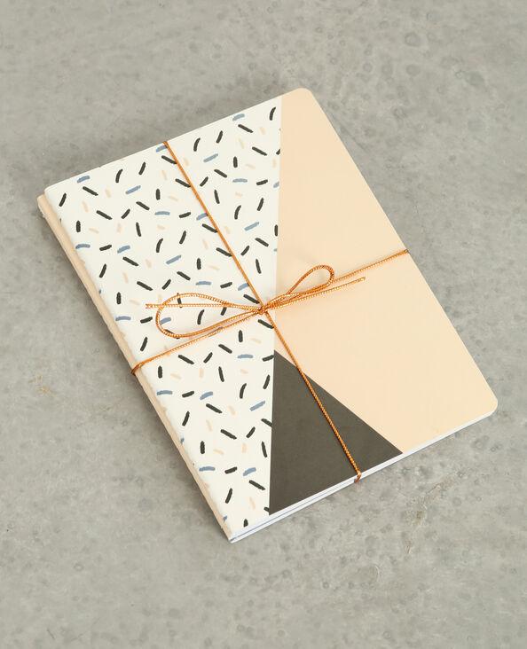 Notizbücher im 3er-Pack. Rosa