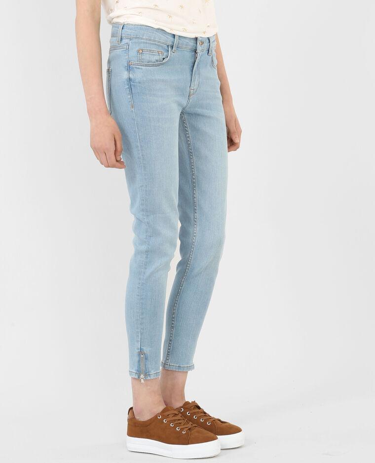 slim jeans mit rei verschluss blau 186092685a06 pimkie. Black Bedroom Furniture Sets. Home Design Ideas