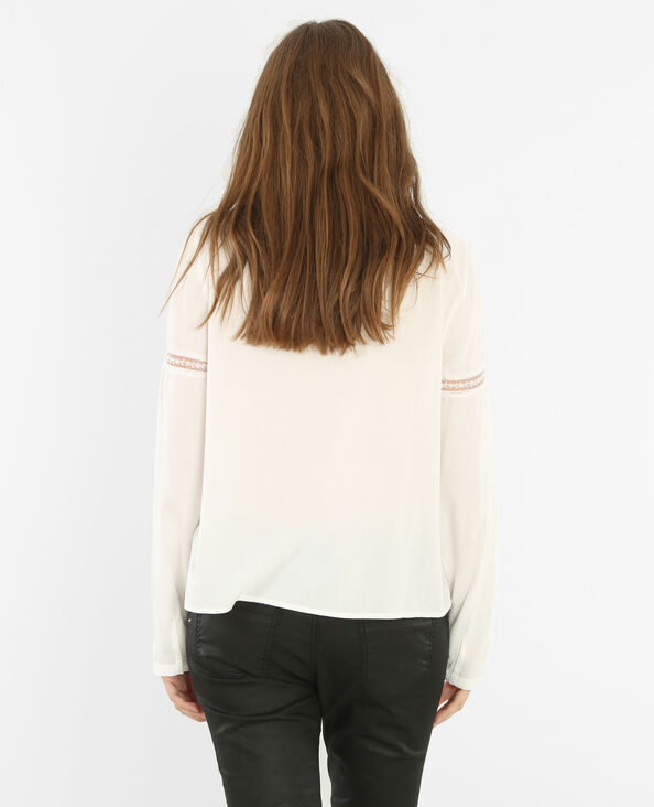 Blusa victoriana marfil