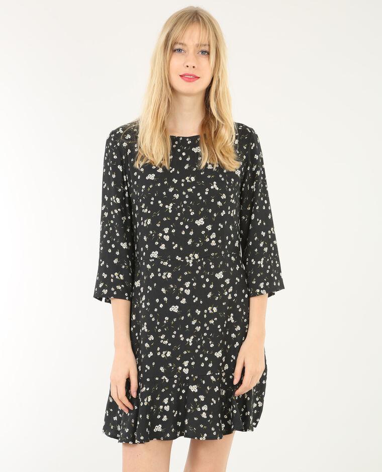 Robe fleurie noir 780543899e19 pimkie - Kleider pimkie ...