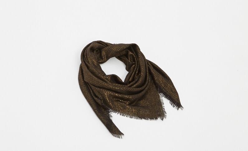 Halstuch aus Lurex Bronze
