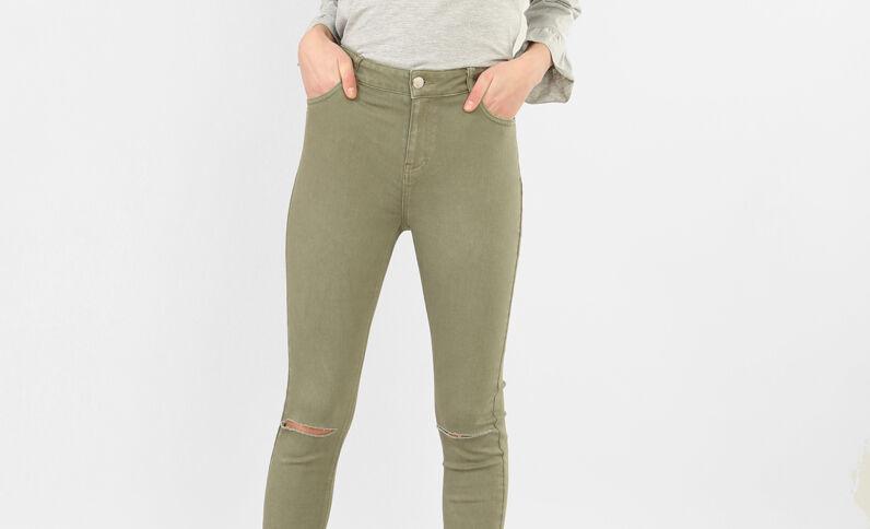 Slim-Hose Grün