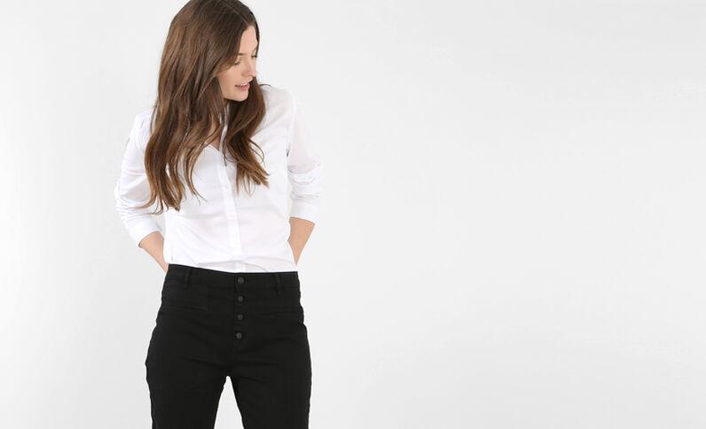 Chemise blanche blanc