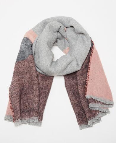 Foulard gris femme echarpe pour femme en laine   Roleplay france 30cc9d765fa