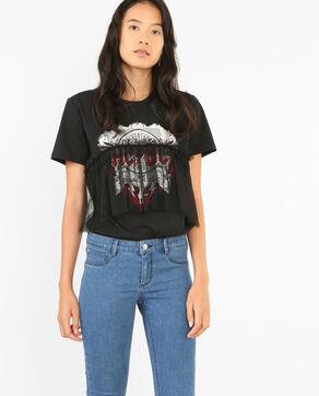 T-Shirt AC/DC Schwarz