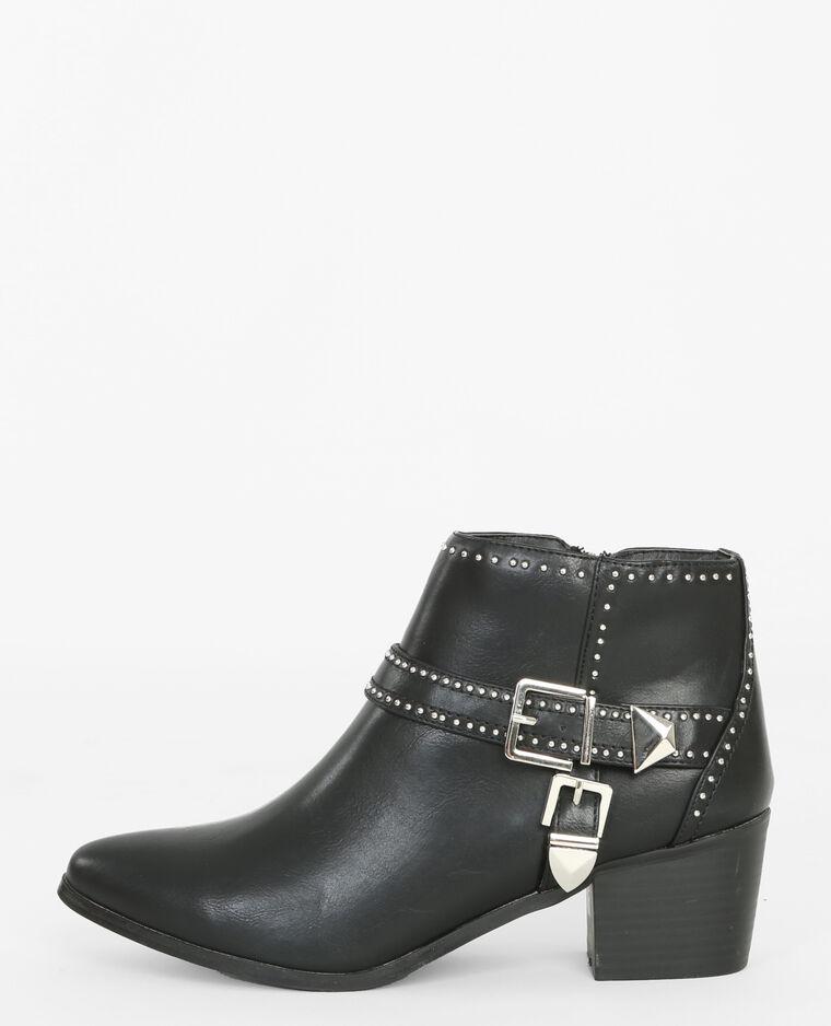 boots mit schnallen schwarz 986148899a08 pimkie. Black Bedroom Furniture Sets. Home Design Ideas