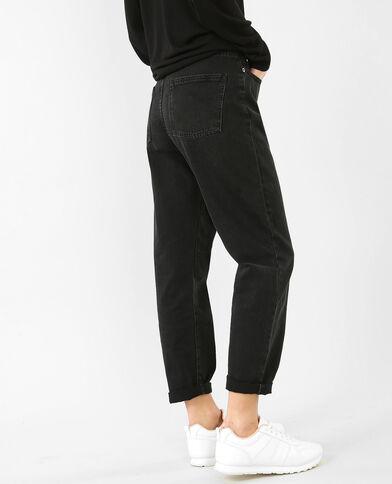 Jeans mum nero