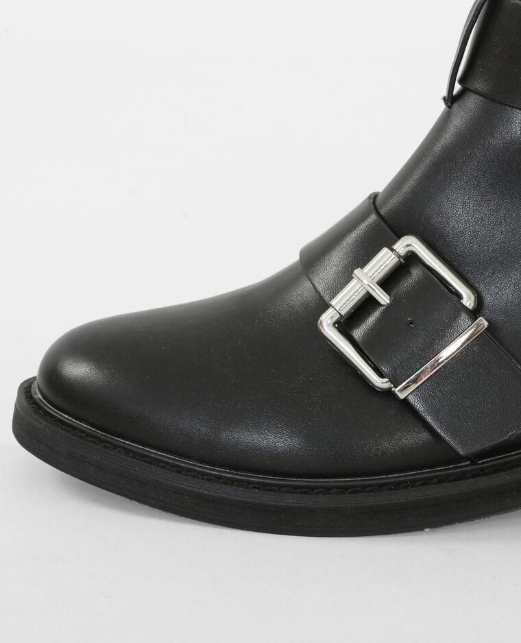 Boots da motociclista nero