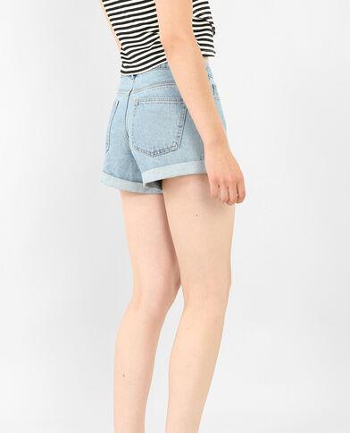 Shorts aus Jeans Blau