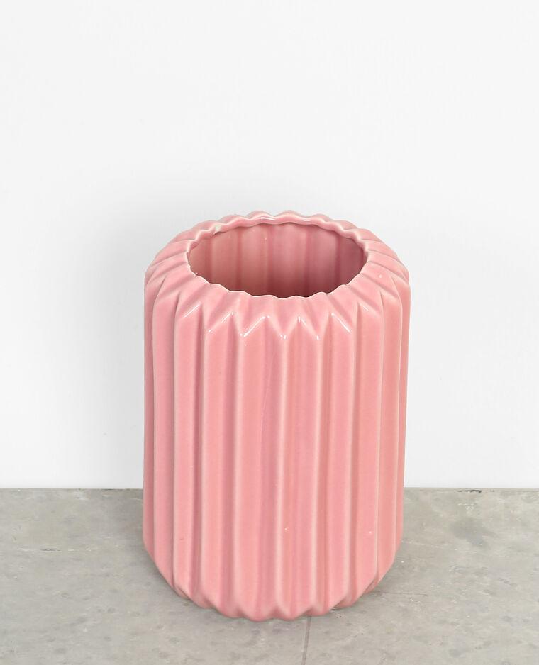 Vase Aus Keramik Rosa 902637239n48 Pimkie