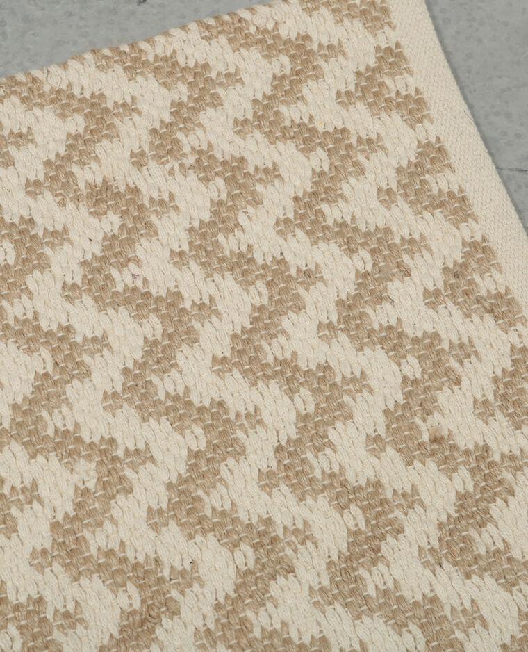 gewebter zick zack teppich wei 902893a90c09 pimkie. Black Bedroom Furniture Sets. Home Design Ideas