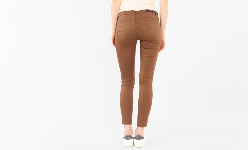 Skinny-Hose mit Push-up-Effekt Camel