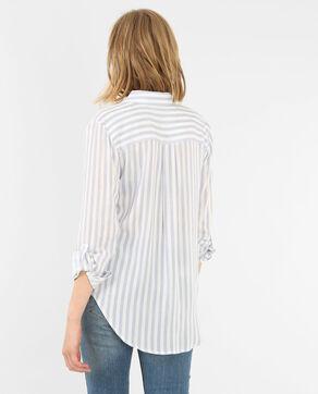 Camisa a rayas azul claro