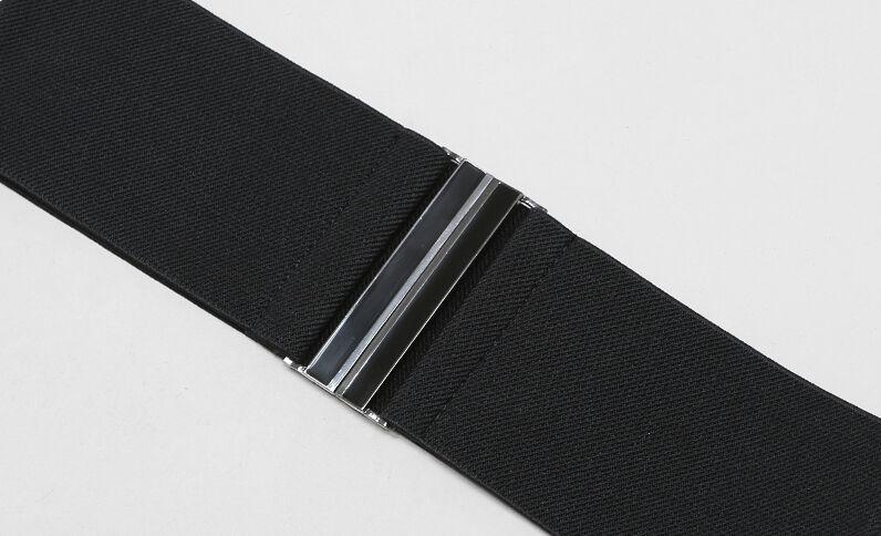 Schwarzer Hüftgürtel Schwarz
