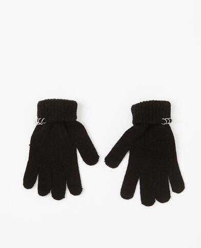 Gants à anneaux noir