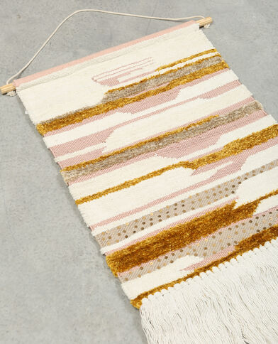 Wandteppich Zartrosa
