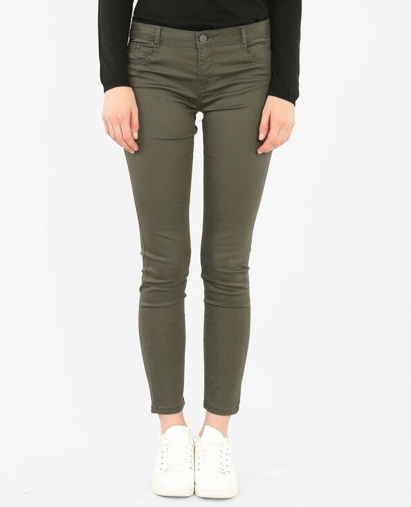 Skinny-Hose mit Push-up-Effekt Khaki
