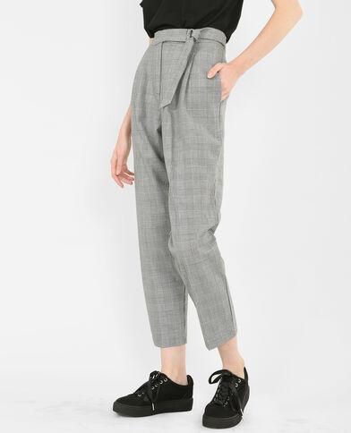 Pantalón carrot gris