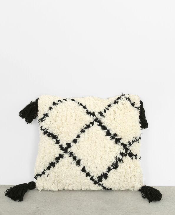 Berber-Kissenbezug Altweiß