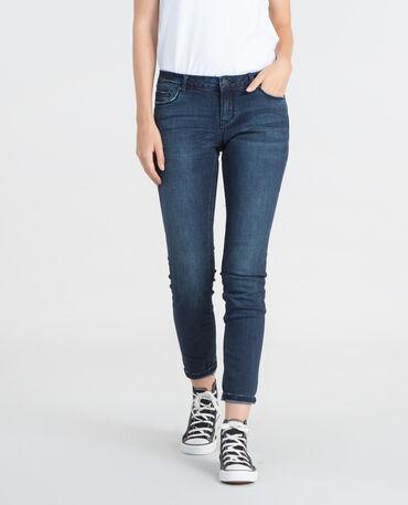 Skinny-Hose Blau