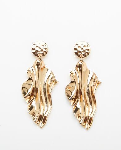Ohrringe XL Gold