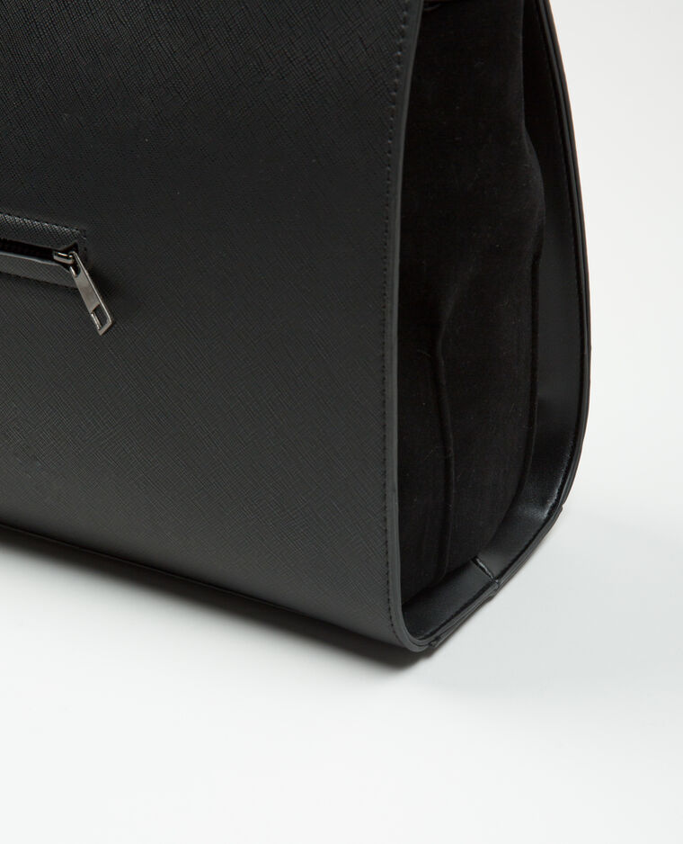 gro e rechteckige tasche schwarz 983123899a08 pimkie. Black Bedroom Furniture Sets. Home Design Ideas