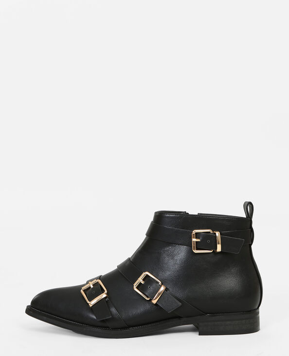 Botas de punta negro