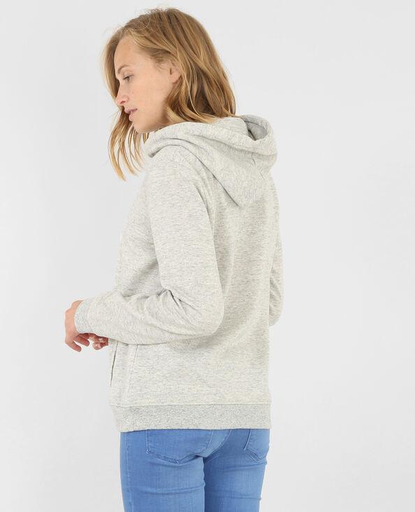 Sweatshirt mit Kapuze Grau