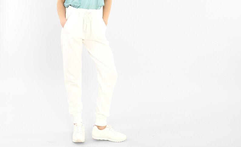 Pantalone da jogging bianco sporco
