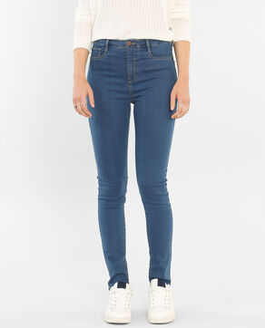 Treggings Blau