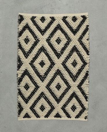 housse de coussin imprim avec pompons 955062765i4a pimkie. Black Bedroom Furniture Sets. Home Design Ideas