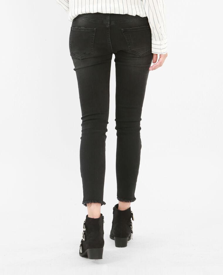 skinny jeans mit rei verschluss schwarz 186105899a08. Black Bedroom Furniture Sets. Home Design Ideas